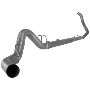 """Flo~Pro 4"""" Turbo Back Single Exhaust System No Muffler 