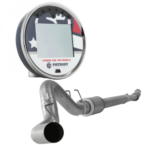 """Patriot nGauge DPF/EGR Upgrade Tuner & 5"""" Downpipe Back with Muffler 