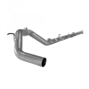 """Flo~Pro 4"""" Stainless Steel Downpipe Back No Muffler 