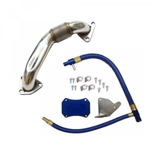 Outlaw Diesel EGR Upgrade and Passenger Side Up-Pipe Kit | 2011-2014 6.6L Duramax LML | Dale's Super Store
