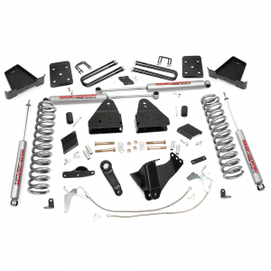 Rough Country 6 IN Suspension Lift Kit for 2015-2016 Ford Powerstroke F-250 4WD | Dale's Super Store