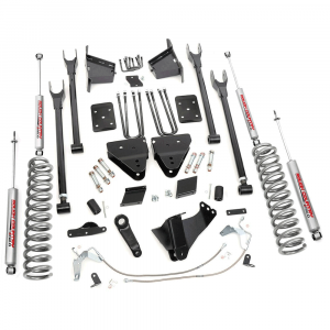 Rough Country 6 IN Suspension Lift Kit Radius Arms for 2015-2016 Ford Powerstroke F-250 4WD (Diesel Only) | Dale's Super Store