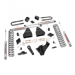 Rough Country 4.5 In Suspension Lift Kit for 2011-2014 Ford Powerstroke F250 4WD | Dale's Super Store
