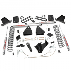 Rough Country 6 In Suspension Lift Kit for 2011-2014 Ford Powerstroke F250 4WD | Dale's Super Store