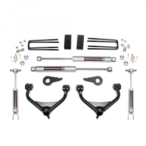 Rough Country 3.5 In Bolt-On Suspension Lift Kit for 2011-2018 Sierra/Silverado 2500HD/3500HD   Dale's Super Store