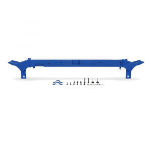 Mishimoto Wrinkle Blue Upper Support Bar | 2008-2010 6.4L Ford Powerstroke | Dale's Super Store
