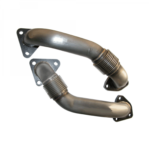 PPE Replacement Up Pipes (Non-EGR) | 2001-2004 Chevy/GMC Duramax LB7 6.6L | Dale's Super Store