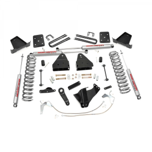 Rough Country 4.5in Suspension Lift Kit | 2008-2010 Ford Super Duty F-250/F-350 4WD | Dale's Super Store