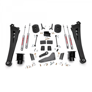 Rough Country 5in Suspension Lift Kit | Coil Spacers | Radius Arms | 2014-2017 RAM 2500 4WD | Dale's Super Store