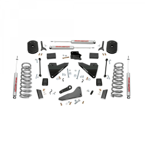 Rough Country 5in Suspension Lift Kit | Coil Springs | Radius Drops | 2014-2017 RAM Cummins 2500 4WD | Dale's Super Store`