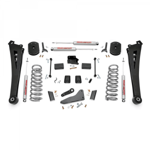 Rough Country 5in Suspension Lift Kit | Coil Springs | Radius Arms | 2014-2017 RAM 2500 4WD (Gas Models) | Dale's Super Store