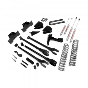 Rough Country 8in 4-Link Suspension Lift Kit | 2005-2007 6.0L Ford Powerstroke F-250/F-350 4WD | Dale's Super Store