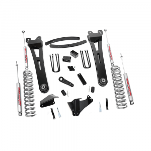 Rough Country 6in Suspension Lift Kit w/Radius Arms | 2005-2007 6.0L Ford Powerstroke F-250/F-350 4WD | Dale's Super Store
