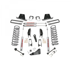 Rough Country 5in Suspension Lift Kit | 2009-2010 6.7L Dodge Cummins 2500/3500 4WD | Dale's Super Store