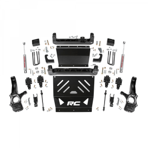 Rough Country 4in Suspension Lift Kit   2015-2018 GM Colorado/Canyon (4WD, Gas Models)   Dale's Super Store