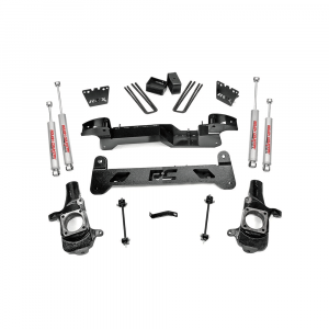 Rough Country 6in Suspension Lift Kit | 2001-2010 GM 2500 & 2001-2006 1500HD 2WD | Dale's Super Store