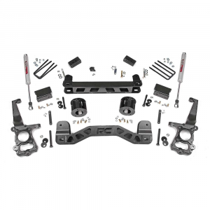 Rough Country 4in Suspension Lift Kit | 2015-2018 Ford F-150 2WD | Dale's Super Store