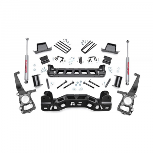 Rough Country 4in Suspension Lift Kit | 2009-2014 Ford F-150 2WD | Dale's Super Store