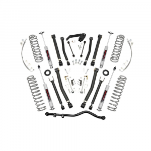 Rough Country 4in X-Series Suspension Lift Kit | 2007-2018 Jeep Wrangler JK Unlimited 4WD | Dale's Super Store