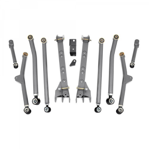 Rough Country 2.5in Long Arm Upgrade Kit | 1997-2006 Jeep Wrangler TJ 4WD (2 Door Only) | Dale's Super Store