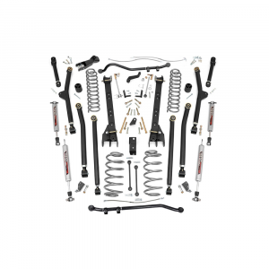 Rough Country 6in Long Arm Suspension Lift Kit | 1997-2006 Jeep Wrangler TJ 4WD | Dale's Super Store