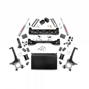 Rough Country 4.5in Suspension Lift Kit | 2007-2015 Toyota Tundra 2WD/4WD | Dale's Super Store
