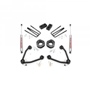 Rough Country 3.5in Suspension Lift Kit w/Upper Control Arms | 2007-2018 GM 1500 2WD P/U | Dale's Super Store