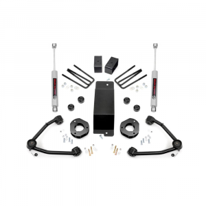 Rough Country 3.5in Suspension Lift Kit w/Upper Control Arms | 2007-2016 GM 1500 4WD P/U | Dale's Super Store