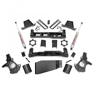Rough Country 7.5in Suspension Lift Kit | 2007-2013 GM 1500 4WD P/U | Dale's Super Store