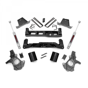 Rough Country 7.5in Suspension Lift Kit | 2007-2013 GM 1500 2WD P/U | Dale's Super Store