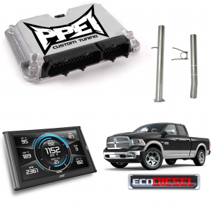 "PPEI Custom Tuning by Kory Willis, 3"" CAT/DPF Delete Pipe & EDGE Insight 