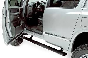 AMP Research - Innovation in Motion - Amp Research Power Step NISSAN Nissan Titan King Cab 04-08; Nissan Armada 04-08 Black