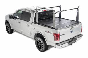 BAK - BAK Flip CS Tonneau Cover with Rack 26102BT | 1988-2013 GM Silverado, Sierra & C/K 8' Bed (2014 HD / 2500 / 3500)