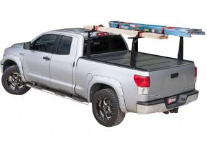 "BAK - BAK Flip CS/F1 Tonneau Cover with Rack 72121BT   2014-2018 GM Silverado, Sierra 6' 6"" Bed (2014 1500 Only, 2015 All)"