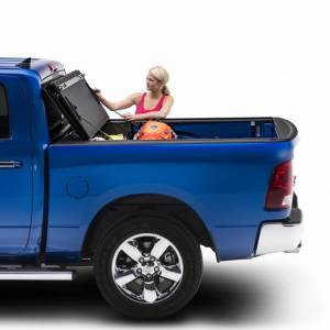 "BAK - BAK Flip MX4 Matte Finish Tonneau Cover 448207 | 2009-2018 DODGE Ram W/O Ram Box 5' 7"" Bed"