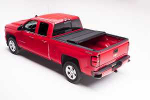 "BAK - BAK Flip MX4 Matte Finish Tonneau Cover 448100 | 2004-2014 GM Silverado, Sierra 5' 8"" Bed"