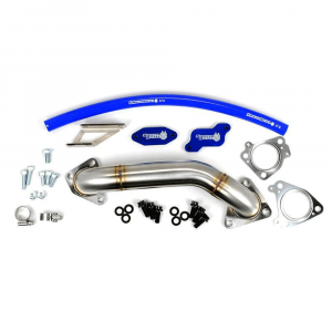 Sinister Diesel EGR Delete Kit w/Passenger Side Up-Pipe for 2004.5-2005 GM Duramax LLY 6.6L | Dale's Super Store