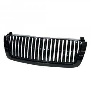 Spyder Black Front Grille (Center Only) for 2003-2007 Chevy Silverado | Dale's Super Store