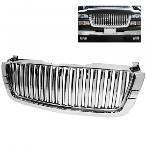 Spyder Chrome Front Grille (Center Only) for 2003-2007 Chevy Silverado | Dale's Super Store