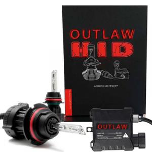 Outlaw Lights - Outlaw Lights 35/55w High/Low Beam Bi-Xenon HID Headlight / Fog Light Kit | 9007