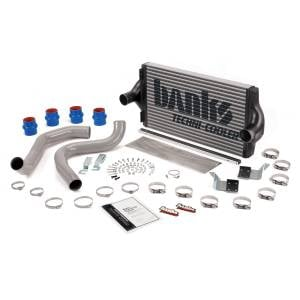 Banks Power Techni-Cooler Intercooler System w/Boost Tubes | 1999.5-2003 Ford Powerstroke 7.3L | Dale's Super Store