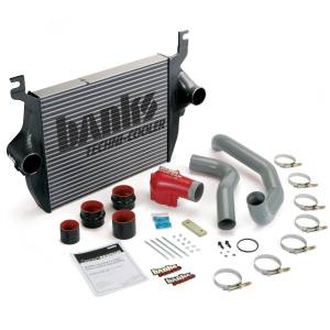 Banks Power Techni-Cooler Intercooler w/High-Ram & Boost Tubes | 2005-2007 Ford Powerstroke 6.0L | Dale's Super Store