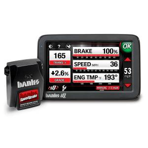 Banks SpeedBrake w/Banks iDash 4.3 (no Thermocouple) | 2005-2007 Ford Powerstroke 6.0L | Dale's Super Store
