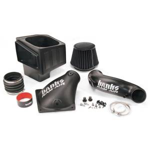 Banks Power Ram-Air Cold-Air Intake System, Dry Filter | 2010-2012 Dodge/Ram Cummins 6.7L | Dale's Super Store