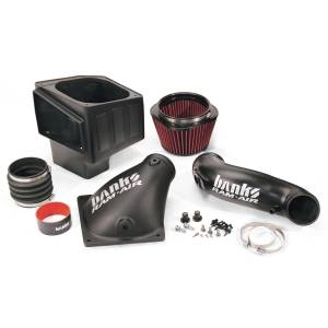 Banks Power Ram-Air Cold-Air Intake System, Oiled Filter | 2007-2009 Dodge Cummins 6.7L | Dale's Super Store