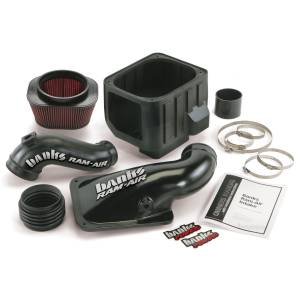 Banks Power Ram-Air Cold-Air Intake System, Oiled Filter | 2001-2004 Chevy/GMC Duramax LB7 6.6L | Dale's Super Store