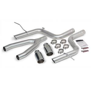 Banks Power Monster Exhaust System w/Chrome Tips | 2014-2015 Jeep Grand Cherokee EcoDiesel 3.0L | Dale's Super Store