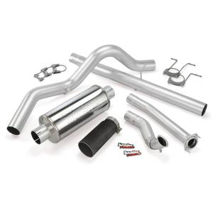 Banks Power Monster Exhaust System w/Black Tip | 1994-1997 Ford Powerstroke 7.3L (ECSB) | Dale's Super Store