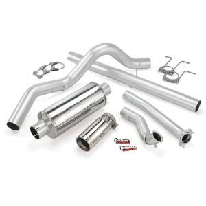 Banks Power Monster Exhaust System w/Chrome Tip | 1994-1997 Ford Powerstroke 7.3L (CCLB) | Dale's Super Store