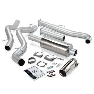 Banks Power Monster Exhaust System w/Chrome Tip | 2001-2004 Chevy/GMC Duramax LB7 6.6L (EC/CCSB) | Dale's Super Store